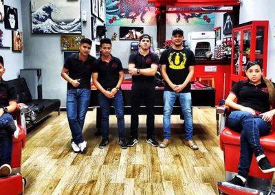 Imagen Equipo Mister Barber Shops Asia Mall Roosevelt