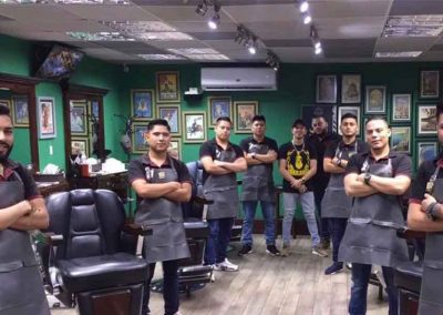 Equipo Mister Barber Shops Condado El Naranjo
