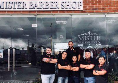 Equipo Mister Barber Shops Portales Zona 17