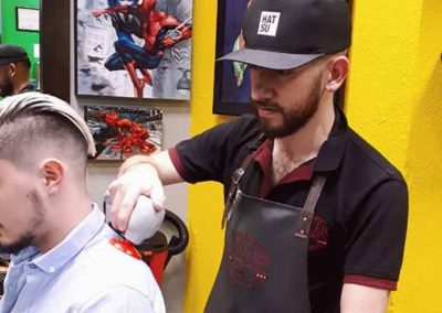 Imagen Clientes Equipo Mister Barber Shops Century Zona 13