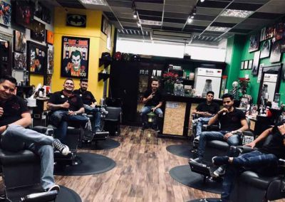 Equipo Mister Barber Shops Century Zona 13