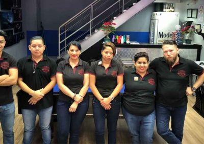 Equipo Mister Barber Shops Plaza la Asuncion Zona 5