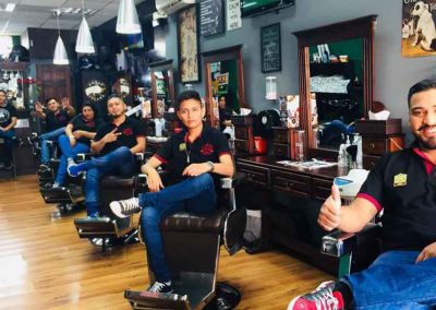 Equipo Mister Barber Shops Las Charcas Zona 11