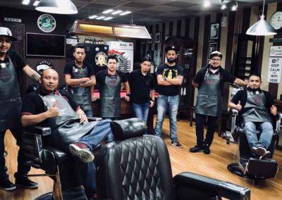 Equipo Mister Barber Shops San Sebastian Carretera al Salvador